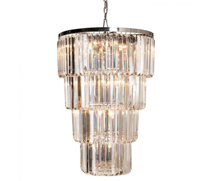 Křišťálový lustr - Ø 65*96 cm 24x E14/40w