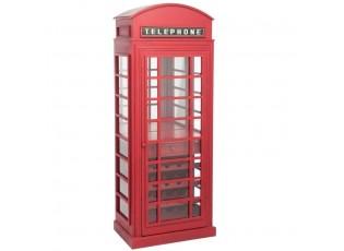 Vinotéka ENGLISH PHONE BOOTH - 72*45*183cm