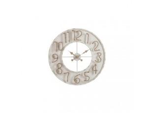 Nástěnné hodiny Jute Numbers - 60*6*60 cm