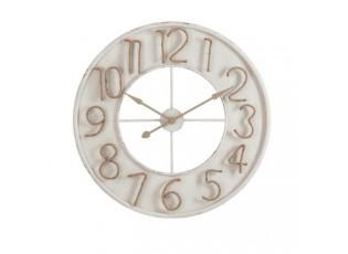 Nástěnné hodiny Jute Numbers - 91*7*91 cm
