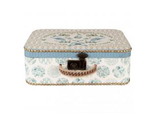Dřevěný kufr s ptáčky - 43*15*31 cm