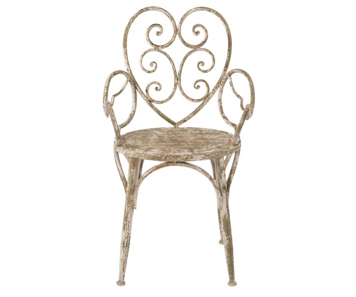 Kovová vintage židle - 55*50*93 cm