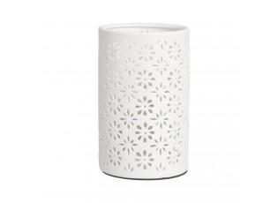 Keramická stolní lampa kytičky - Ø 12*20 cm / E27/max 1*30W