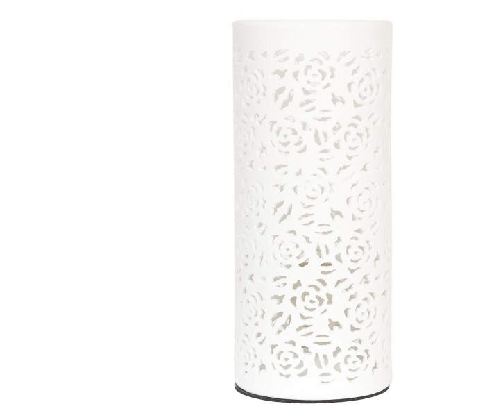 Keramická stolní lampa Rose - Ø 12*28 cm / E27/max 1*30W