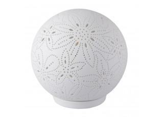 Keramická stolní lampa - koule - Ø 20*19 cm / E14/max 1*30W