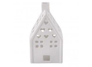Keramická stolní lampa Perníková chaloupka - 11*11*20 cm / E27/max 1*30W