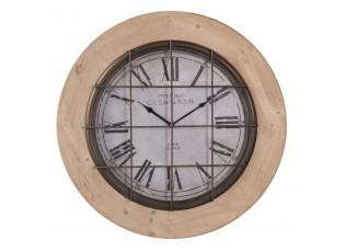Nástěnné hodiny Cafe de La Tour - Ø 55*5 cm / 1xAA