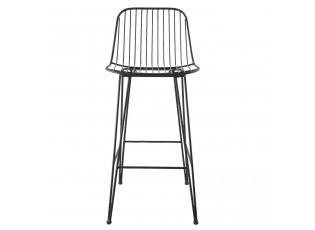 Kovová barová stolička - 40*44*90 cm