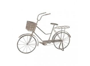 Dekorativní jízdní kolo s obalem na květináč - 138*41*89 cm