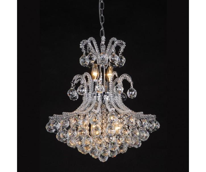 Křišťálový lustr - 60-180 * Ø50 cm