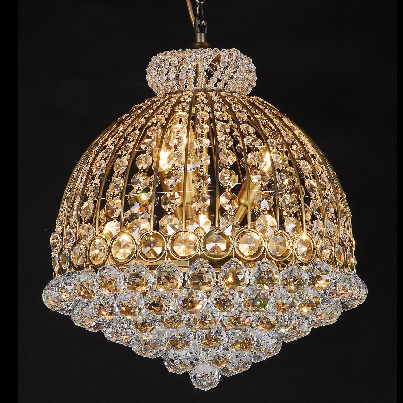 Křišťálový lustr - 55-180 * Ø48 cm