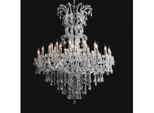 Křišťálový lustr - 150-200 * Ø120 cm