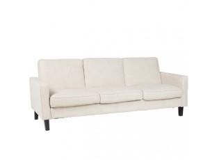 Rozkládací béžová sedačka - 84*207*88 cm