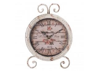 Stolní hodiny s patinou - 25*4*18 cm