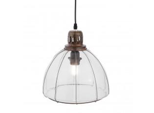 Kovov závěsné světlo - Ø 27*27 cm