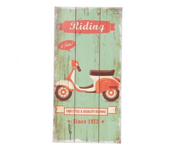 Cedule Riding is fun - 24*1*48 cm
