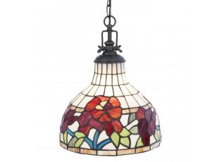 Závěsné světlo Tiffany Milicca - Ø 30*37 cm / E27/max 1*60W