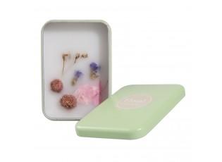 Květinová vůně v dárkové plechové krabičce - 9*7*3 cm