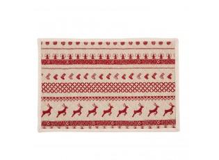 Prostírání na stůl Nordic Christmas - 48*33 cm - sada 6ks