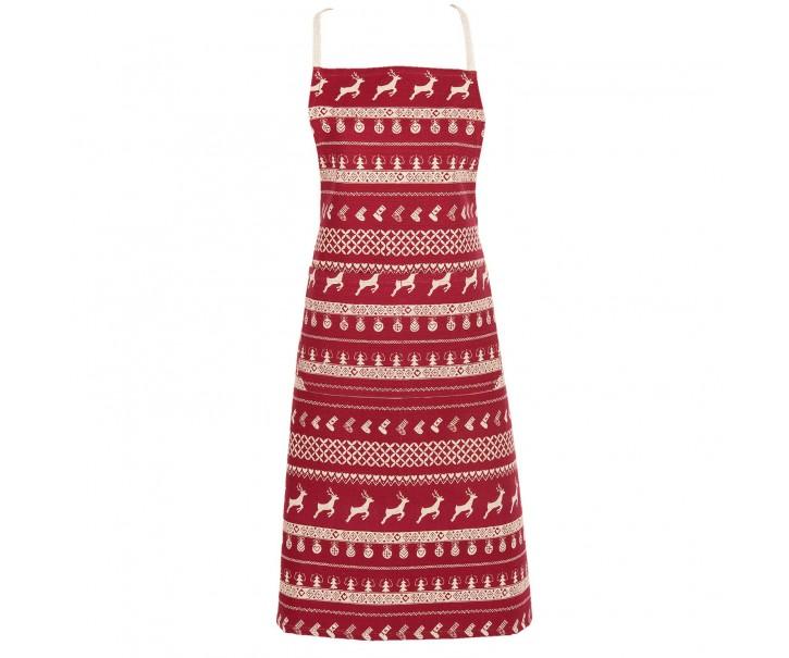Zástěra Nordic Christmas - 70*85 cm