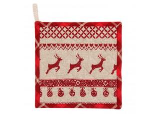 Chňapka - podložka Nordic Christmas - 16*30 cm