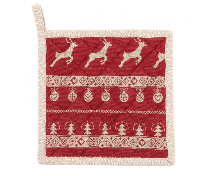 Chňapka - podložka Nordic Christmas - 20*20 cm