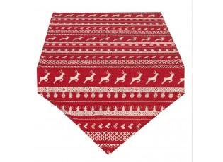 Běhoun na stůl Nordic Christmas - 50*160 cm