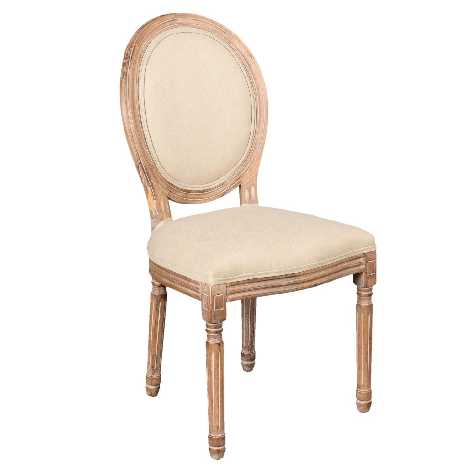 Clayre & Eef Čalouněná židle Julie - 50*55*96 cm