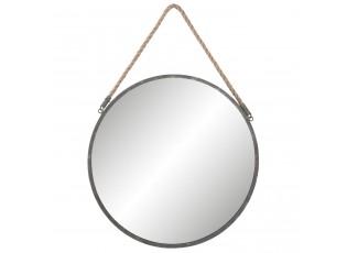 Kulaté kovové zrcadlo - Ø 45*1cm