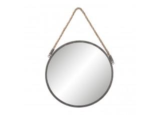 Kulaté kovové zrcadlo - Ø 36*1 cm