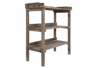 Odkládací stolek André s patinou - 82*37*89 cm