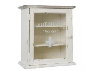 Dřevěná nástěnná lékárnička  - 32*18*36 cm