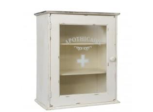 Dřevěná nástěnná lékárnička  - 47*27*55 cm