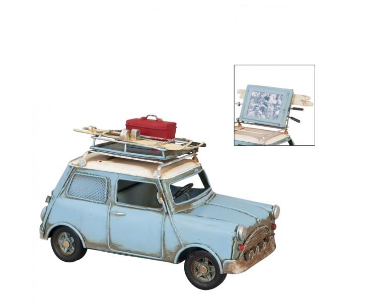 Model auta s fotorámečkem a kasičkou -  20*10*13 cm / 5*4 cm