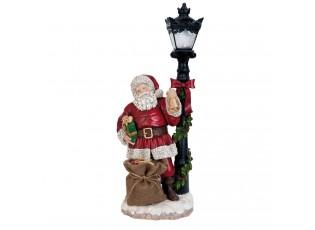 Santa s LED lampou - 19*13*46 cm