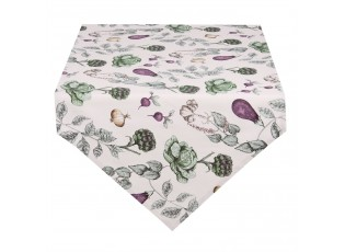 Běhoun na stůl The Kitchen Garden - 50*160 cm