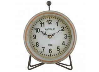 Stolní hodiny Antique s patinou - 19*6*24 cm / 1xAA