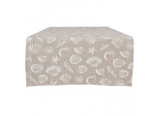 Běhoun na stůl Sea Shells - 50*140 cm
