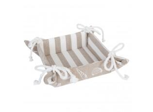 Košíček na pečivo Sea Shells - 35*35*8 cm