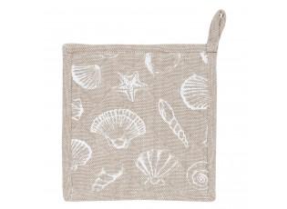 Chňapka - podložka Sea Shells - 20*20 cm