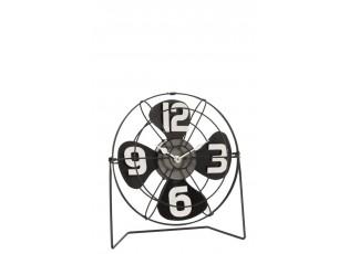 Kovové stolní hodiny - 27*8,5* 27,5cm