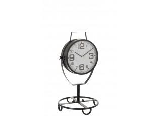 Kovové stolní hodiny - Ø 31 * 56cm