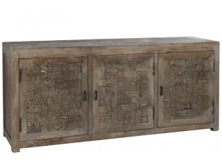 Dřevěná komoda Anneles - 175*45*76cm
