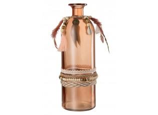 Skleněná váza BOHO - Ø10*26,5cm