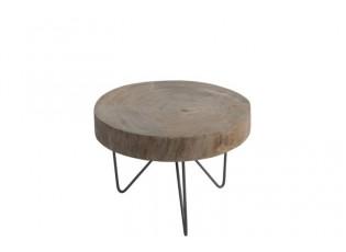 Odkládací stolek Paulownia - Ø 30*42 cm