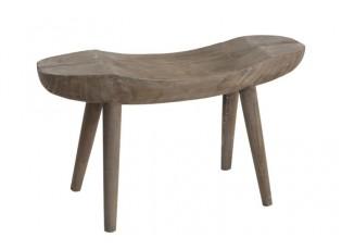 Dřevěná lavice Paulownia - 80*30*43 cm