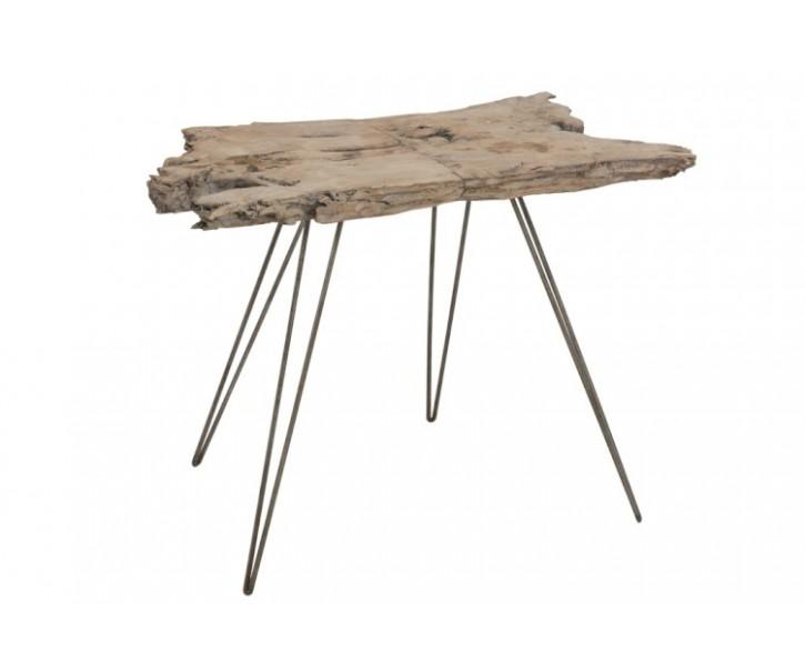 Dřevěný odkládací stolek - 90*50*70 cm
