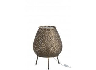 Stolní lampička Antik Brown - Ø 30*32 cm
