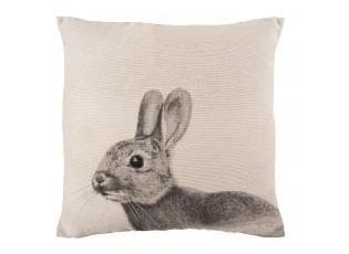 Polštář s výplní králík -  40*40cm