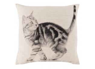 Polštář s výplní kočka -  40*40cm